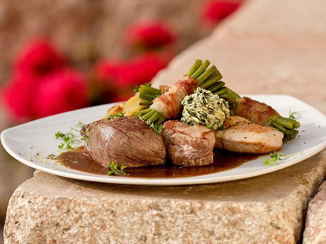 Steak und Fleisch